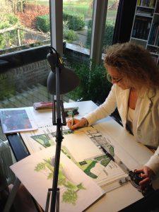tekentafel foto